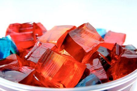 Разноцветный желатин