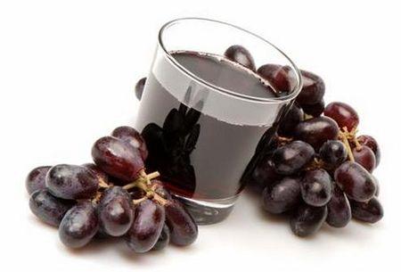 Сок из красного винограда